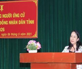 Phó Chủ tịch nước tiếp xúc cử tri ở An Giang