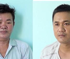 Bắt 2 người hoạt động tín dụng đen ở An Giang có mã tấu