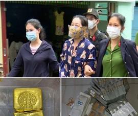 150 công an khám xét nhóm buôn lậu, thu giữ 36kg vàng, hàng triệu USD