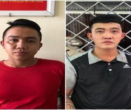Tạm giữ hình sự 2 thanh niên trốn khai báo, dùng dao đe dọa CSGT