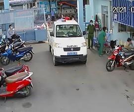 Thượng úy Công an lái xe chuyên dụng đưa sản phụ đi sinh