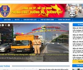Phòng Cảnh sát giao thông có trang thông tin điện tử
