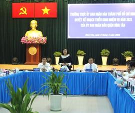 Lãnh đạo TP.HCM chia sẻ áp lực về dân số ở quận Bình Tân