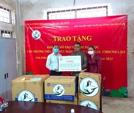 TP.HCM trao tặng 590 triệu đồng cho một trường tiểu học ở Lào