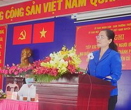 Bà Nguyễn Thị Lệ: Dù trúng cử hay không cũng làm tốt nhiệm vụ