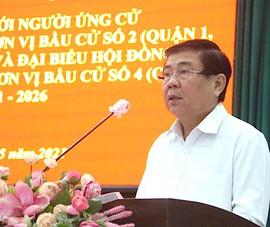 Ông Nguyễn Thành Phong nói về COVID-19, an ninh, an sinh...