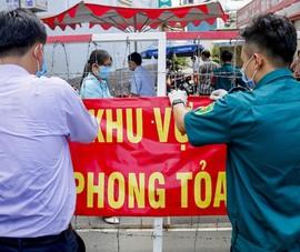 Quận 7 phong tỏa phường Tân Thuận Đông, một phần Tân Thuận Tây và Bình Thuận