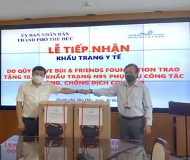 Kiều bào ở Nhật tặng TP.HCM 30.000 khẩu trang chống dịch