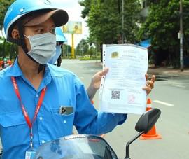 Phòng PC08 TP.HCM nói về việc sử dụng giấy đi đường giả