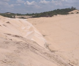 Phạt công ty khai thác cát trộm 100 triệu, tịch thu tang vật