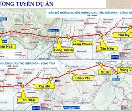 Cao tốc Biên Hòa- Vũng Tàu dự kiến hoàn thành năm 2025