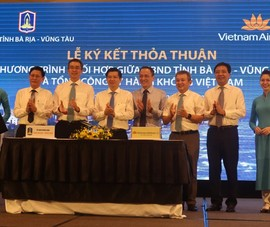 Bà Rịa- Vũng Tàu bắt tay Vietnam Airlines, Saigontourist