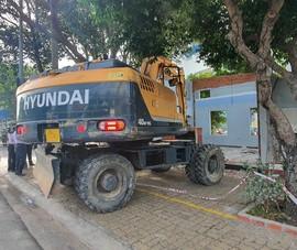 Vũng Tàu: Tháo dỡ 5 ki-ốt tại chung cư Hodeco Plaza