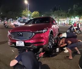 Vũng Tàu: Cố tình tông xe để giữ người nghi trộm xe máy?
