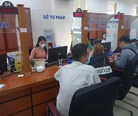 Bà Rịa- Vũng dừng nhận hồ sơ trực tiếp tại Trung tâm hành chính công