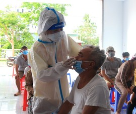 11.000 cư dân Côn Đảo được xét nghiệm sàng lọc SARS-CoV-2