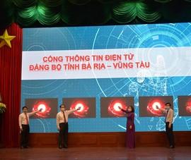 Bà Rịa - Vũng Tàu ra mắt Cổng thông tin điện tử Đảng bộ tỉnh