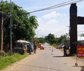 Huyện Xuyên Mộc tăng cường chống dịch khi số F0 tăng cao trong ngày