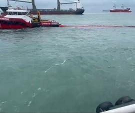 Vũng Tàu khẩn trương ứng phó sự cố tràn dầu do chìm tàu Mỹ An 1