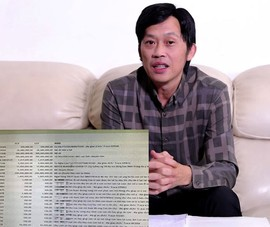 Lộ sao kê tài khoản của Hoài Linh: Xử lý sao?