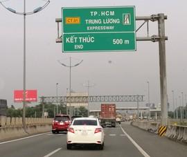 Sẽ quản lý giao thông trên cao tốc TP.HCM - Trung Lương bằng AI