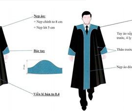 Hội thẩm nhân dân sẽ mặc áo choàng khi xét xử