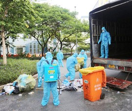 TP.HCM lên kịch bản ứng phó lượng rác thải 'khủng' mùa dịch