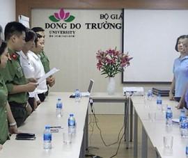 Cựu hiệu trưởng ĐH Đông Đô bị truy tố đến 20 năm tù