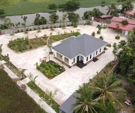 Khu nhà vườn trái phép trên đất thuê trồng nấm