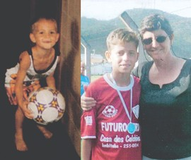 Mẹ - thầy dạy bóng đá đầu tiên của Jorginho!