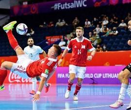 Futsal Việt Nam lại gặp 'ông kẹ' Nga ở vòng knock out