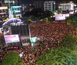5 màn hình lớn phục vụ CĐV xem Việt Nam đấu UAE và Thái Lan