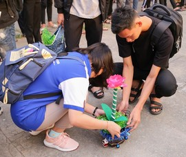 Sinh viên năm nhất làm hoa công nghệ cảnh báo khí gas