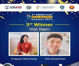 Sinh viên RMIT Việt Nam thắng giải cuộc thi Phóng viên trẻ khu vực ASEAN