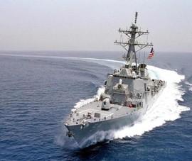 Trung Quốc nói tàu chiến Mỹ tiến vào vùng biển gần Hoàng Sa