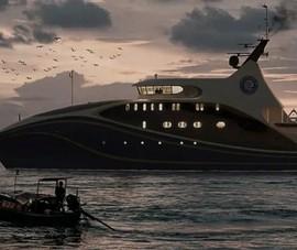 Trung Quốc đóng tàu 'nghiên cứu biển' không người lái
