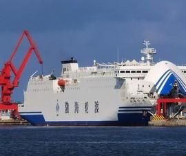 Ý đồ của Trung Quốc khi dùng tàu chở hàng dân sự để tập trận quân sự?