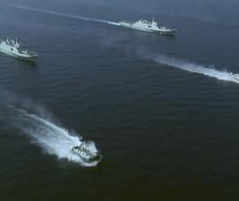Trung Quốc gần như cùng lúc diễn tập bắn đạn thật và đổ bộ chiếm đảo