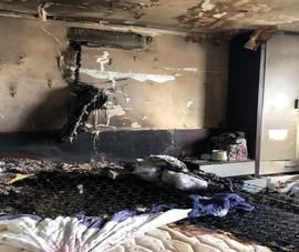 Cháy cao ốc Srec đường Trường Sa, dân hoảng loạn tháo chạy