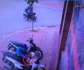Clip tên cướp trộm xe SH siêu tốc