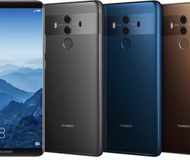 Huawei Mate 10 Pro chính thức lộ diện tại CES 2018