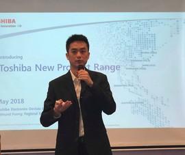 Toshiba ra mắt 6 dòng ổ cứng có khả năng chống sốc cao