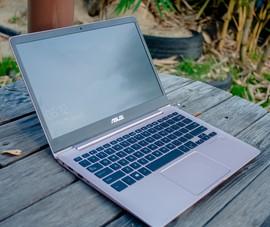 Trên tay nhanh mẫu laptop siêu mỏng nhẹ tại VN