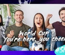 Xinh lung linh cùng Meitu nhân mùa World Cup