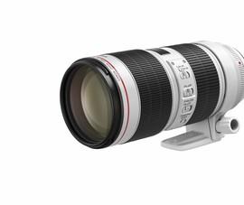 Canon ra mắt phiên bản mới của dòng ống kính khủng