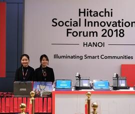 Hitachi hỗ trợ cải thiện môi trường tại Việt Nam