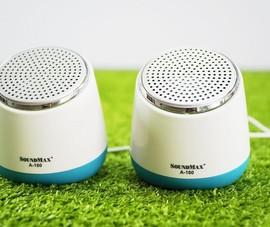 Đánh giá mẫu loa để bàn chưa tới 200.000 đồng của SoundMax