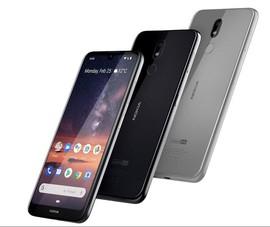 Nokia 3.2 được trang bị phím cứng để gọi Google Assistant