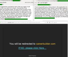 Cẩn trọng chiêu trò gửi email mời làm việc với mức lương cao