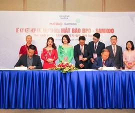 Mắt Bão BPO và Samkoo hợp tác mở rộng kinh doanh